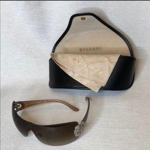 Authentic Bvlgari Sunglasses w Swarovski crystals